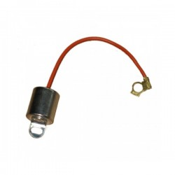 Condenser for twin point distributor