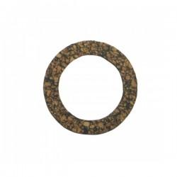 Oil filler cap cork seal