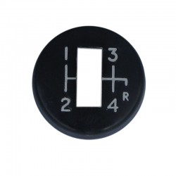 Cap for overdrive gear lever knob