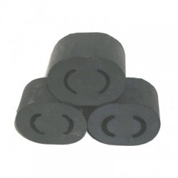 Exhaust tail pipe rubber mounting set