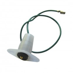 Connector female for heated rear window
