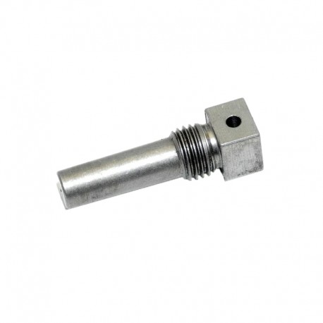 Clutch pin fork to shaft