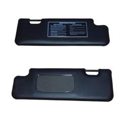 Sun visor pair (Right hand drive)